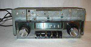 Vintage 1961 Mopar Model 204 Car Radio Made By Motorola Plymouth Chrysler