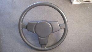 Porsche 87 924 s Vintage Steering Wheel 3 Spoke Black Sport Used German Original