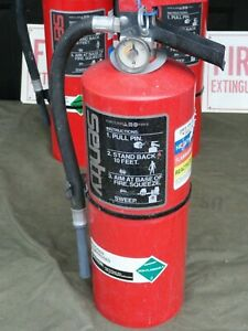Fully Charged Ansul Sentry Dry Chemical Fire Extinguisher Sy 1014 10 Lbs