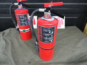 Fully Charged Ansul Sentry Dry Chemical Fire Extinguisher Sy 1013 10 Lbs