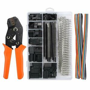 Proster Dupont Crimper Sn 28b Ratchet Crimping Tools With 1550pcs Male female