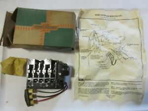 Nos 1960 1961 Chevy Truck Accessory Junction Block Unit Original Gm Deluxe