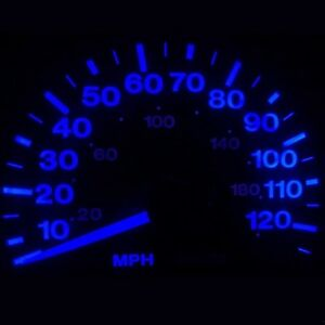 New Dash Instrument Cluster Gauge Blue Led Lights Kit Fits 95 04 Chevy S10 Truck