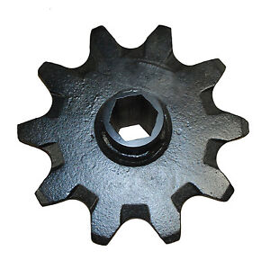 10 Tooth Auger Sprocket 140665 Fits Ditch Witch Trencher Rt115 Rt80 Rt90 etc