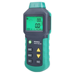 Mastech Ms5908a ms5908c Lcd Circuit Analyzer With Voltage Gfci Rcd Tester Ss