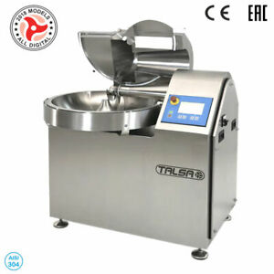 Talsa K50neo Commercial 8 Gal Bowl Chopper Cutter 3 Ph Variable Speed 480v