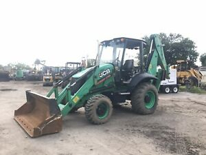 2014 Jcb 3cx Backhoe 4x4 Loader