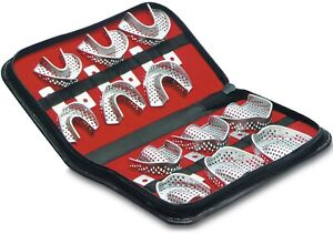 Dental Impression Trays Kit 12 Pcs Stainless Steel