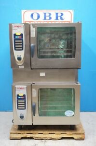 Rational Double Stacked Full Size Gas Convection Combi ovens Model Scc62g