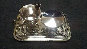 Silver Plated Cream And Sugar Set Great Condition