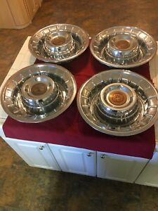 1956 Cadillac Hubcaps Set Of 4