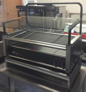Star Hot Dog Grill 50ste Grill Max Roller Type Stadium Seating