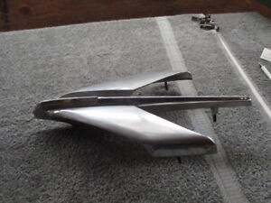 1954 Pontiac Standard Hood Ornament Enblem Chieftan Flying Indian Star Chief