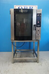 Hobart Boilerless 10 Pan Full Size Combi Oven Model Ce10fd On Stand
