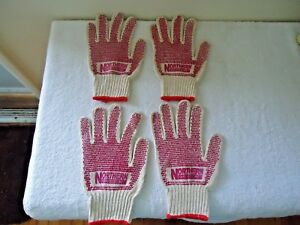 Lot Of 2 Pair Nos Northern Safety Co gloves Size See Pics For Sizes