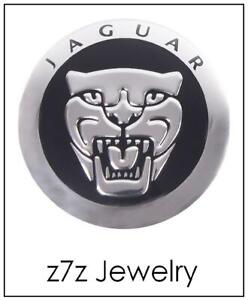 Jaguar Steering Wheel Glove Box Emblem Growler Logo Auto Metal Decal Z7qq