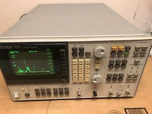 Hp 3563a Dual Channel Dynamic Signal Control System Analyzer Passes Self Test