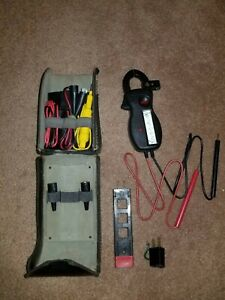 Amprobe Ultra Analog Clamp Meter With Case And Leads Energizer A 45
