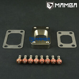 Mamba T25 T28 To T3 Cnc Turbo Exhaust Manifold Flange Adapter Gasket Stud