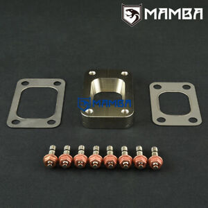 Mamba T25 T28 To T3 Cnc Turbo Charger Manifold Flange Adapter Turbine Conversion