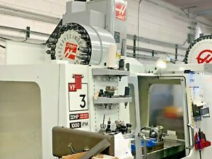 2008 Vf 3d Machining Center Haas Cnc 4th Axis Ready Vmc Probing 24 Atc Clean