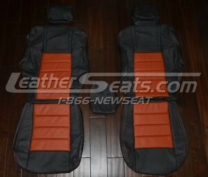 2009 2012 Dodge Se Rt Srt8 Challenger Interior Leather Seat Covers R t 2010 11
