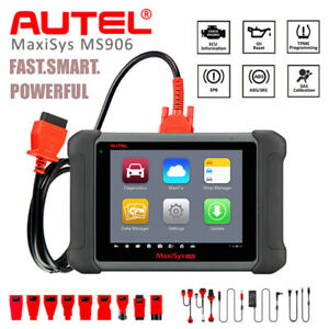 Autel Maxisys Ms906 Obd2 Diagnostic Scanner Key Coding Maxidas Ds708 Ds808 Mv108