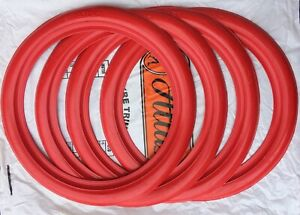 Atlas Classic 13 Red Side Wall Port A Wall Tire Trim Set Of4 Hot Rod Baby Moon