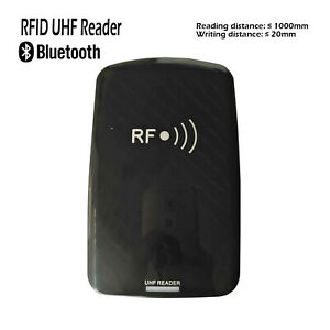 Bluetooth Uhf Rfid Reader Writer Scan Multiple Tags10k Tags Portable Desktop 915