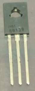 Bd139 Genuine Philips Npn To126 Transistor 5pcs