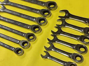 Blackhawk Stanley Ratchet Wrench stubby Wrench Sets Metric
