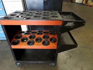 Hout Toolscoot 50 Taper Holds 36 Tool Holders Bottom Shelf And 2 Side Trays