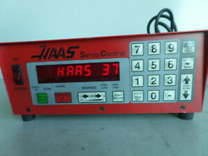 Software 37 Brush 17 Pin Haas Control Box Sco1m Rotary Table Indexer Inv 1602m