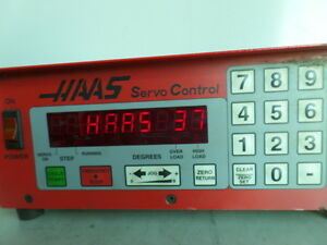 Software 37 Brush 17 Pin Haas Control Box Sco1m Rotary Table Indexer Inv 1603m