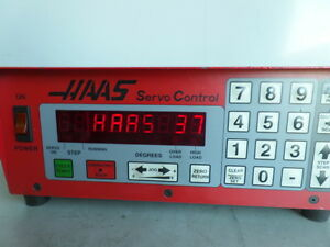 Software 37 Brush 17 Pin Haas Control Box Sco1m Rotary Table Indexer Inv 1601m
