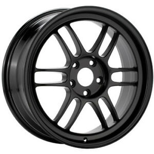 Enkei Rpf1 Wheel 18x9 35mm 5x108 Single Black Rim For Focus St And Rs