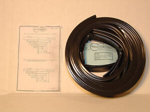 1967 1969 Chevrolet Camaro 5 Leaf Precut Spring Liner Set With Instuctions