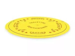 Southworth Ppdt Pallet Disk Turntable 4000 Lb yellow