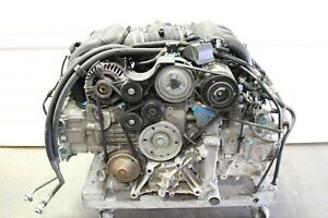 Porsche 986 Boxster Complete Engine Motor 2 7 2 7l 63 074 Miles M96 22 Tested