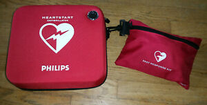 Philips Heartstart Hs1 Defibrillator M5066a aba With Fast Response Kit