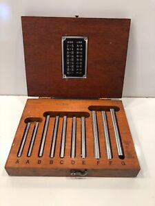 Brown And Sharpe Mfg Co Demonstration Hole Gauges Providence Rhode Island