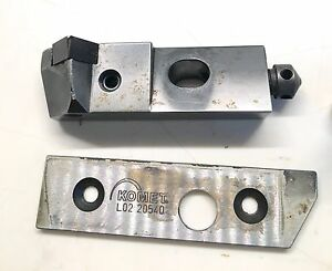 Komet D40 55440 Indexable Insert Toolholder W komet Tool Holder Plate L02 20540