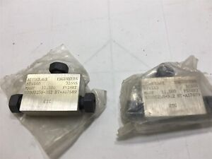 Lot Of 2 autoclave Engineers St4440 316ss Mawp 11 5000 Psi Rt