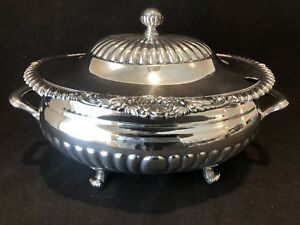 Reed Barton Soup Tureen And Lid Shells 96 Oz 5110 Silver Plate Beautiful