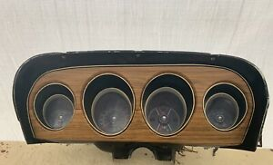 1969 Ford Mustang Mach 1 Dash Panel Parts