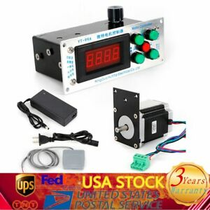 Variable Speed Auto Motor Transformer Coil Winding Machine Wire Winder 2directio