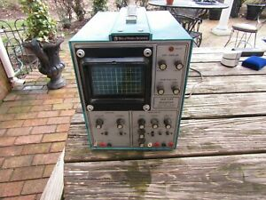 Bell Howell Schools Vintage Single Trace Oscilloscope as Is