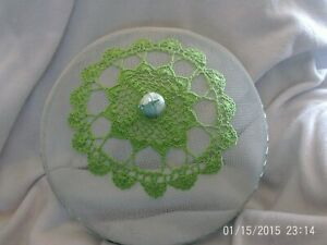 Shoofly Food Cover With Green Decorative