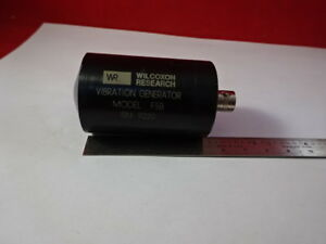 Wilcoxon F5b Handheld Shaker Calibration Sensor Accelerometer As Is b8 a 02