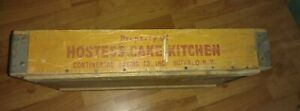 Vintage Rare Property Of Hostess Cake Kitchen Wooden Shipping Crate Buffalo Ny